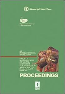 Models and analysis of vocal emissions for biomedical applications. 4/th International workshop (2009)