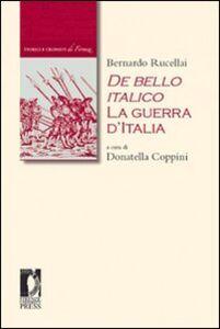 De bello italico. La guerra d'Italia