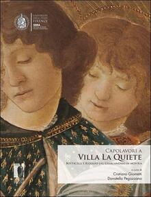 Antondemarirreguera.es Capolavori a Villa La Quiete. Botticelli e Ridolfo del Ghirlandaio in mostra Image