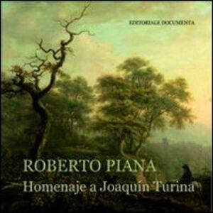 Homenaje a Joaquin Turina. Con CD Audio