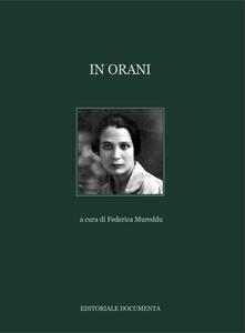 In Orani - copertina