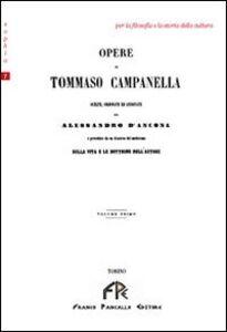 Opere di Tommaso Campanella. Vol. 1