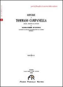 Opere di Tommaso Campanella. Vol. 2