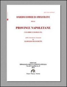 Provincie napoletane: Calabria e Basilicata