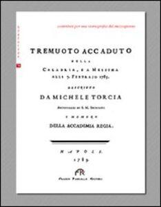 Tremuoto accaduto nella Calabria, e a Messina (1783)