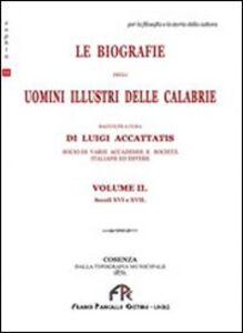 Le biografie degli uomini illustri. Vol. 2