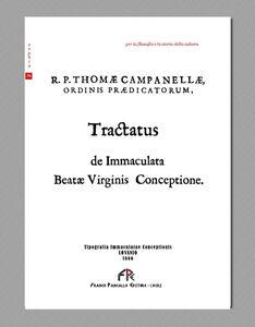 Tractatus de Immaculata beatae virginis conceptione
