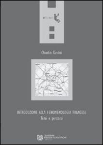 Introduzione alla fenomenologia francese