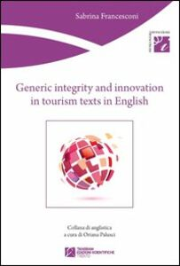 Generic integrity and innovation in tourism texts in english