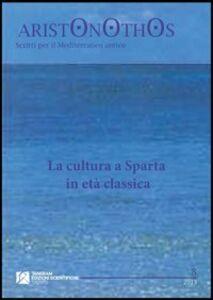 La cultura a Sparta in età classica