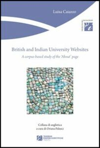 British and Indian University websites. A corpus-based study of the about page