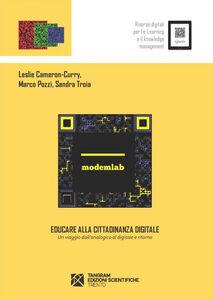 Educare alla cittadinanza digitale. Un viaggio dall'analogico al digitale e ritorno