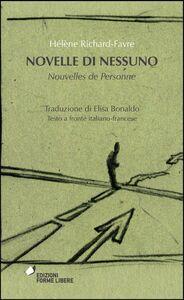 Novelle di nessuno-Nouvelles de personne
