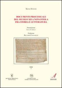 Documenti processuali del secolo XII a Nonantola fra storia e letteratura