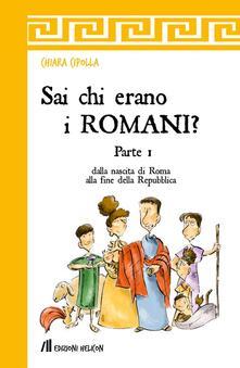 Voluntariadobaleares2014.es Sai chi erano i romani?. Vol. 1: Dalla nascita di Roma alla fine della Repubblica. Image