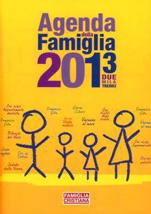Camfeed.it Agenda della famiglia 2013 Image