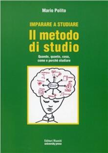Filippodegasperi.it Imparare a studiare. Il metodo di studio. Quando, quanto, come, dove e perché studiare Image