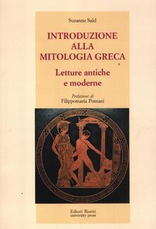 Festivalpatudocanario.es Introduzione alla mitologia greca. Letture antiche e moderne Image