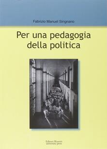 Festivalpatudocanario.es Per una pedagogia della politica Image