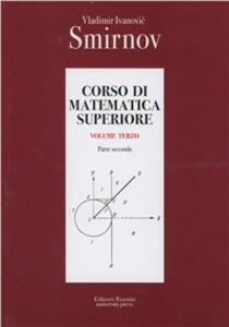 Corso di matematica superiore. Vol. 3\2