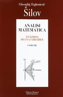 Mercatinidinataletorino.it Analisi matematica. Vol. 1 Image