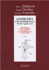 Geometria. Metodi, applicazioni. Vol. 1