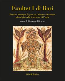 Camfeed.it Exultet I di Bari. Parole e immagini di pace tra Oriente e Occidente alle origini della letteratura di Puglia Image