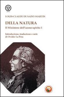 Promoartpalermo.it Il mistero dell'uomo-spirito. Vol. 1: Della natura. Image