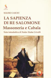 Squillogame.it La sapienza di re Salomone. Massoneria e Cabala Image