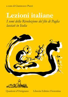 Capturtokyoedition.it Lezioni Italiane. I semi della Rivoluzione del filo di paglia lasciati in Italia Image