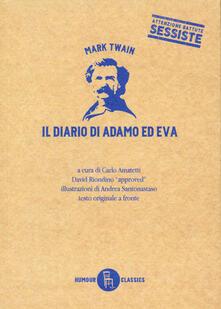 Camfeed.it Il diario di Adamo ed Eva. Testo inglese a fronte Image