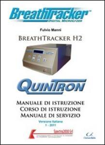 Manuale di istruzione Breath Tracker H2+