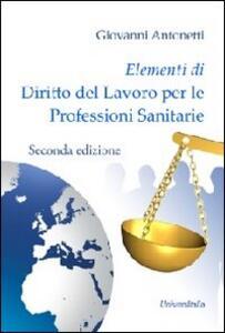 Elementi di diritto del lavoro per le professioni sanitarie