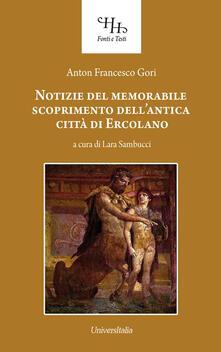 Daddyswing.es Notizie del memorabile scoprimento dell'antica città di Ercolano Image