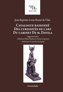 Catalogue raisonné des curiosités de l'art du cabinet de M. Davila