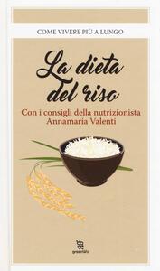 La dieta del riso