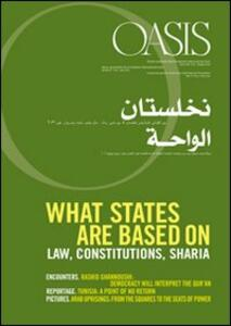 Oasis. Vol. 15: What states are based on.