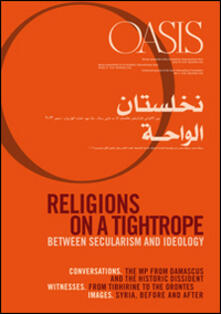 Vitalitart.it Oasis. Vol. 18: Religions on a tightrope... Between secularism and ideology. Image