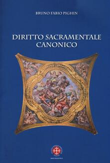 Radiospeed.it Diritto sacramentale canonico Image