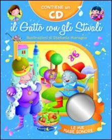 Rallydeicolliscaligeri.it Il gatto con gli stivali. Ediz. illustrata. Con CD Audio Image