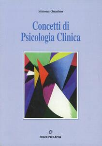 Concetti di psicologia clinica