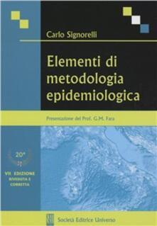 Grandtoureventi.it Elementi di metodologia epidemiologica Image