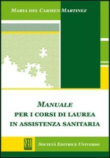 Librisulladiversita.it Manuale per i corsi di laurea in assistenza sanitaria Image