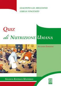 Quiz di nutrizione umana