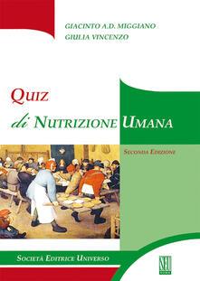 Winniearcher.com Quiz di nutrizione umana Image