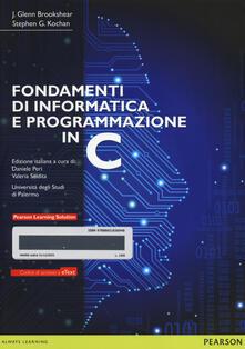 Fondamenti di informatica e programmazione in C. Con e-text. Con espansione online.pdf