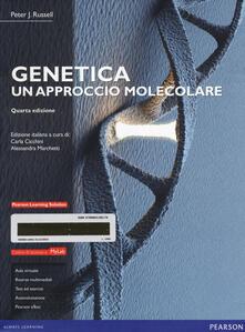 Genetica. Un approccio molecolare. Ediz. mylab. Con e-text. Con espansione online - Peter J. Russell - copertina