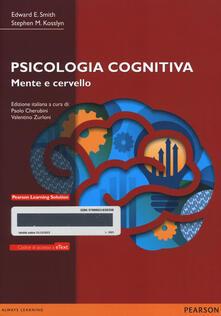 Cocktaillab.it Psicologia cognitiva. Mente e cervello. Con e-text. Con espansione online Image