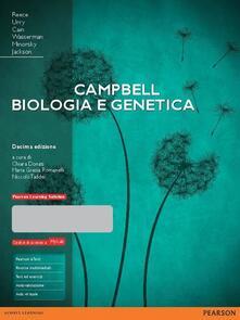 Ascotcamogli.it Campbell. Biologia e genetica. Ediz. mylab. Con aggiornamento online. Con e-book Image