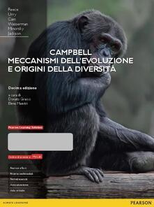 Campbell. Meccanismi dell'evoluzione e origini della diversità. Ediz. mylab. Con espansione online - copertina